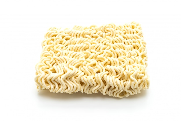 Dried korean instant noodles