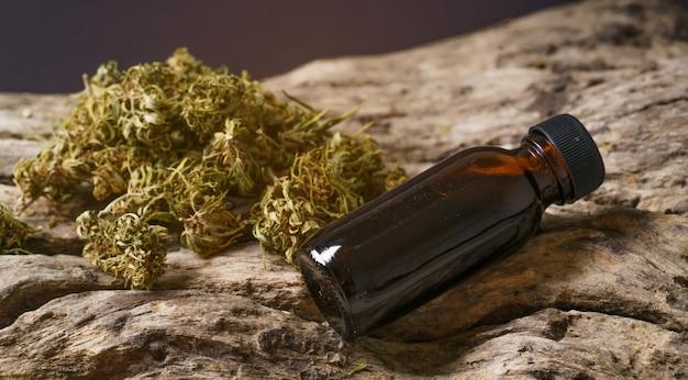 Thc 추출물로 말린 의료용 마리화나