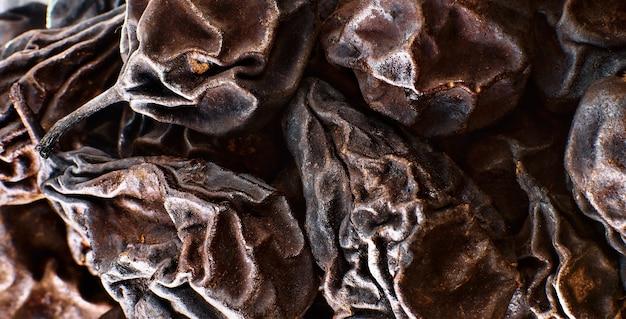 乾燥梨クローズアップセレクティブフォーカス成分