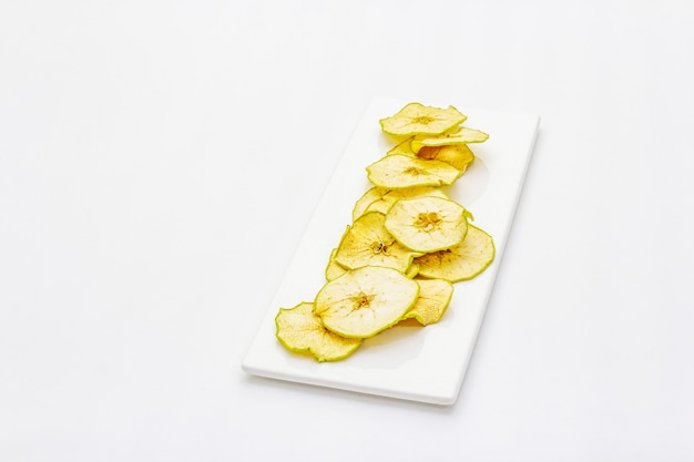 Dried slices of apple