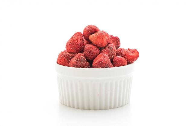 말린 딸기 스낵
