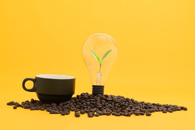 Пейте кофе для энергии, получайте новые идеи
