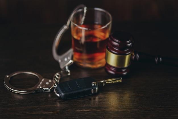 飲酒運転の概念。