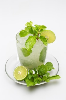Drinking lemon juice, soda, mint helps quench thirst.
