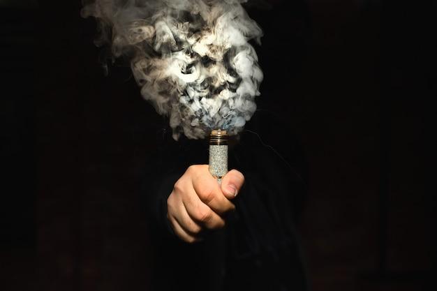 ヒュームの雲を作る片手でドリッパー