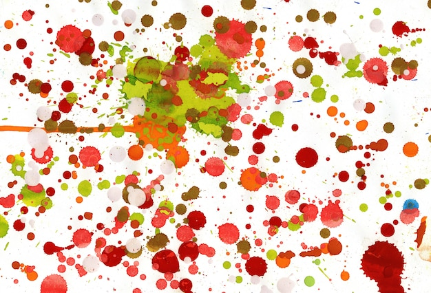 Dripping painting background