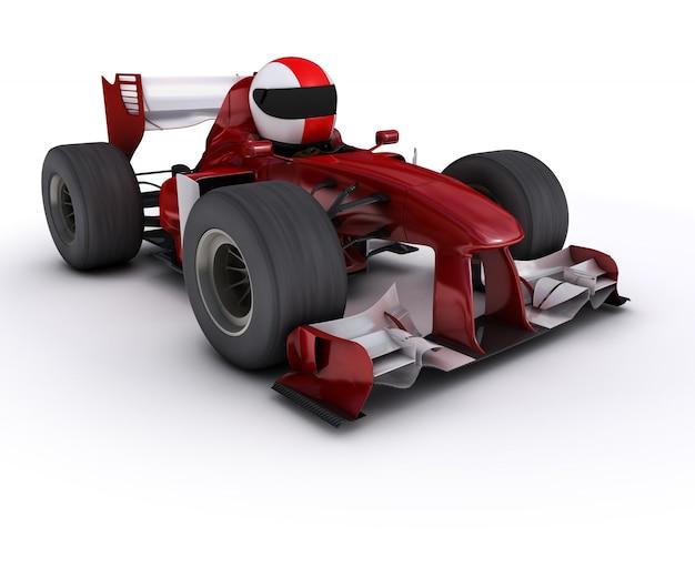 Вождение формула один автомобиль