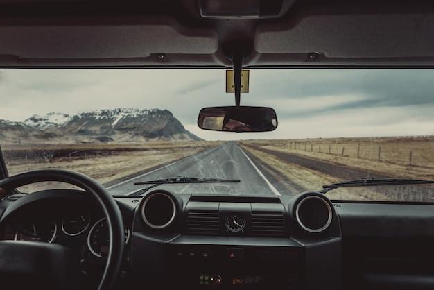 Вождение по исландским дорогам, тур по исландии