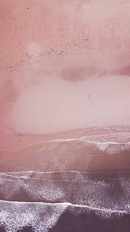 无人机拍摄的苏格兰手机壁纸海岸