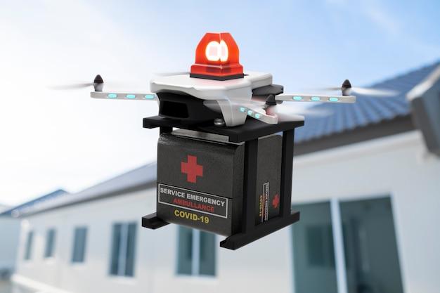 Технологии дронов, инженерия, 3d-рендеринг