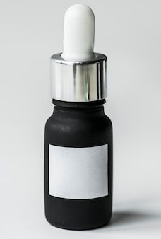Dropper bottle isolated on whtie background