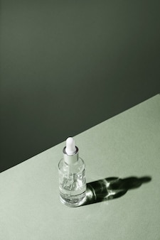スポイトガラス瓶モックアップボディトリートメント&スパナチュラルビューティープロダクツエコクリームセラムスキンケア...