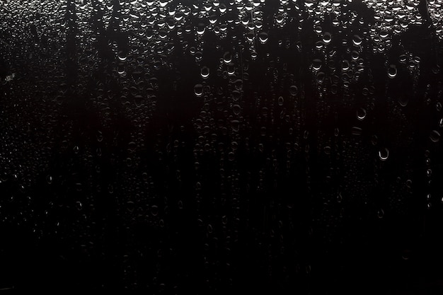 Drops of water background