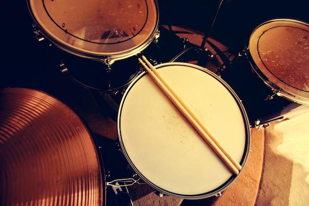 Drums conceptual image.