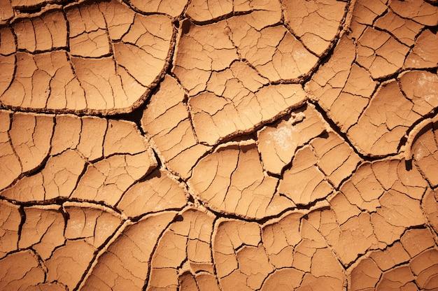 Текстура сухой потрескавшейся земли