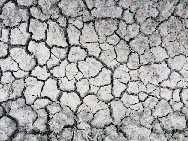 Dry cracking earth texture parched monochrome soil background