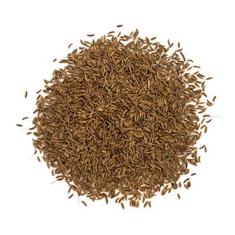 分離された乾燥クミンまたはキャラウェイシード