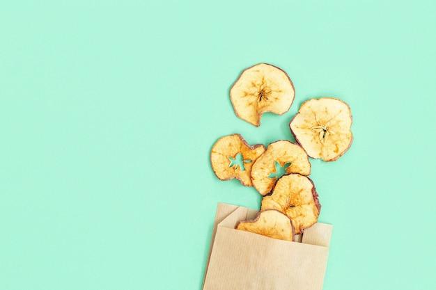 ドライスライスフルーツアップル、植物ベースの食事のための脱水フルーツチップ。