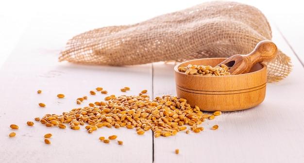 乾燥小麦の種