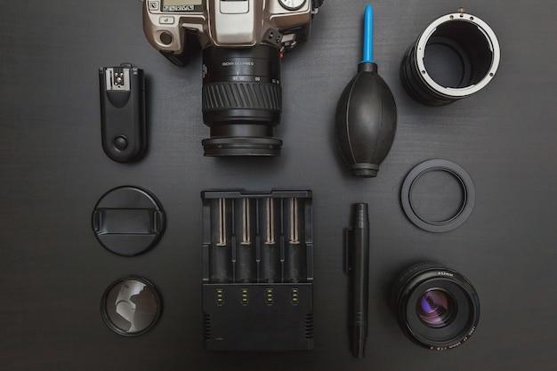 Dslr 카메라 시스템, 카메라 청소 키트, 렌즈 및 카메라 액세서리 (검정색)