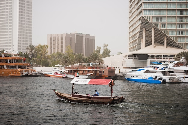 Dubai creek Free Photo