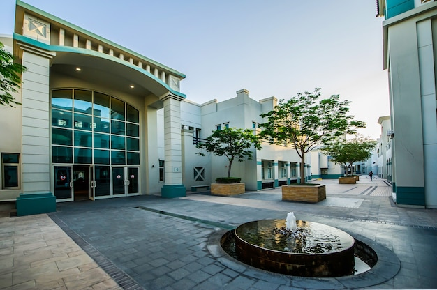 Dubai knowledge park - the world's only talent development free zone for private companies - located in al sufouh district