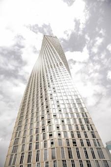 ドバイマリーナの超高層ビル。アラブ首長国連邦