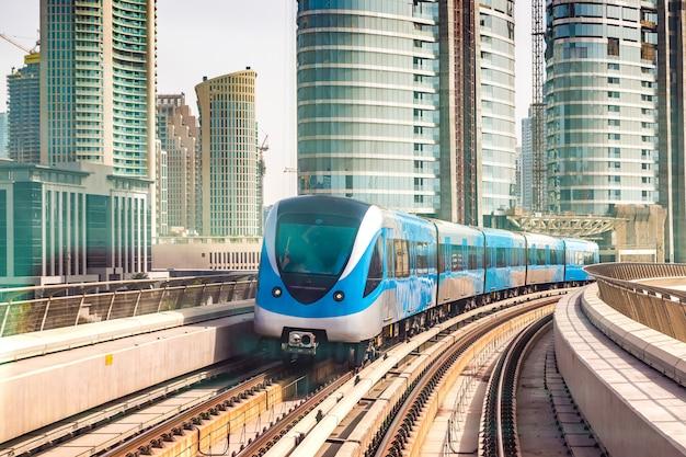 Dubai metro railway photo