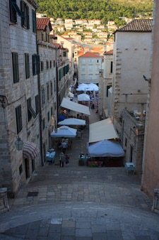 Dubrovnik clock tower, polygonal Vector   Free Download