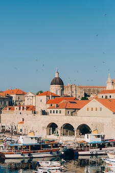 Dubrovnik old town croatia inside the city views of streets