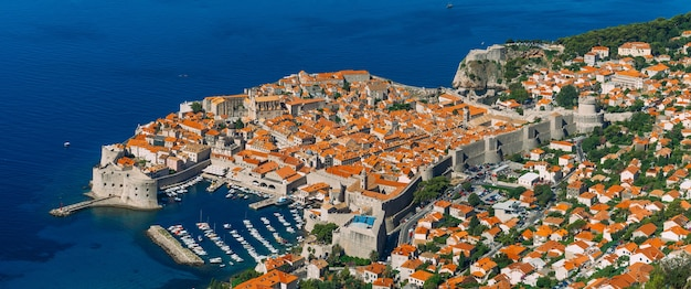 Dubrovnik old town croatia inside the city