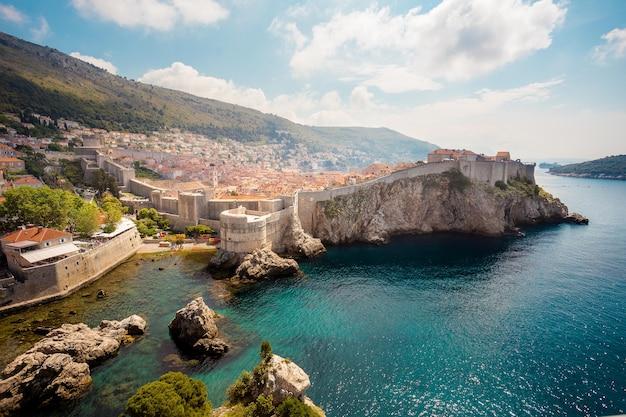 Dubrovnik、クロアチアの壁
