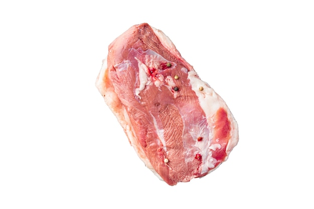 Duck breast raw meat poultry fresh meal snack on the table copy space food background rustic