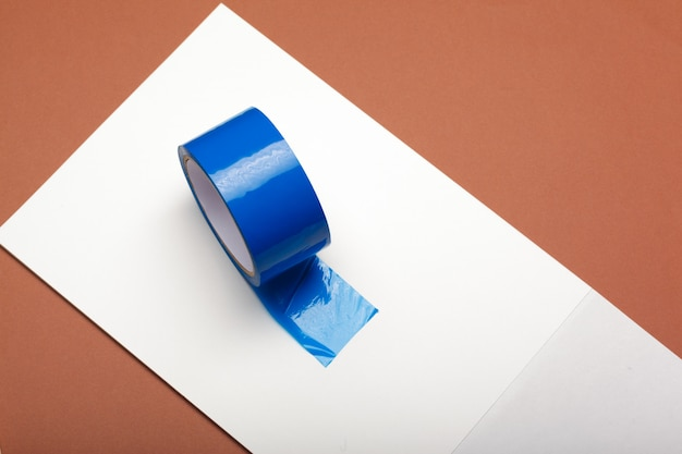 Duct tape on a paper
