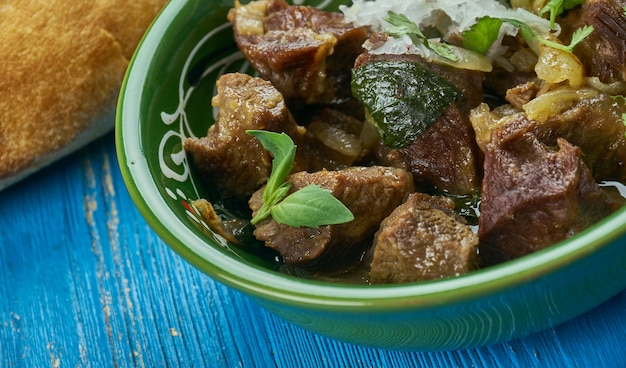 Dumbay ki nihari, 파키스탄 양고기 카레, 가까운 파키스탄 요리