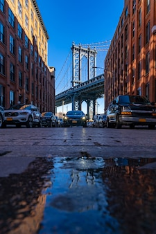 Dumbo point new york brooklyn usa