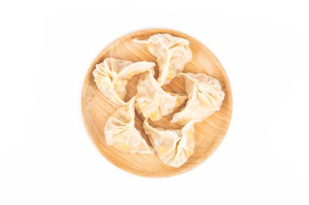 白の中国のトウモロコシdump子