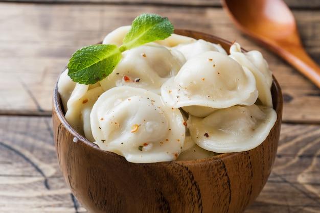 Dumplings stuffed with meat