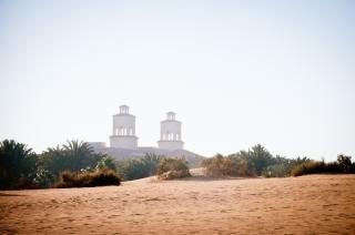 砂丘の風景