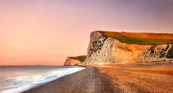 Durdle Door on the Jurassic Coast at Dorset United Kingdom