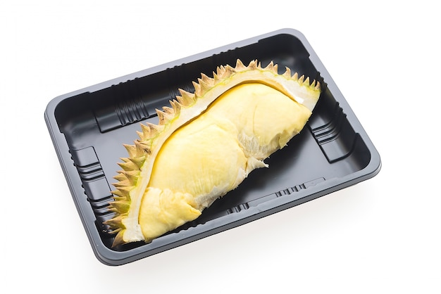 Durian fruit isolated