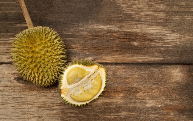 Durian tropical fruit from southeast asia very popular in thailand.