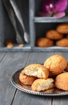 Dutch almond cookies called