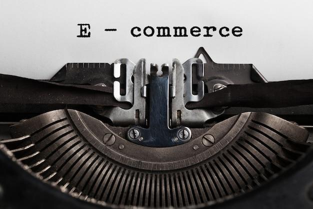 전자 상거래 판매 개념, 온라인 쇼핑, 유형 작가가 쓴 디지털 마케팅