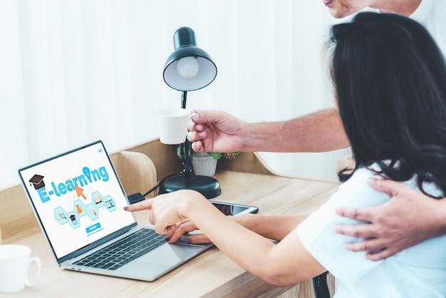 Электронное обучение и онлайн-образование для студентов и университетов.