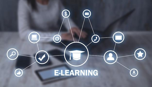 Электронное обучение онлайн-обучение