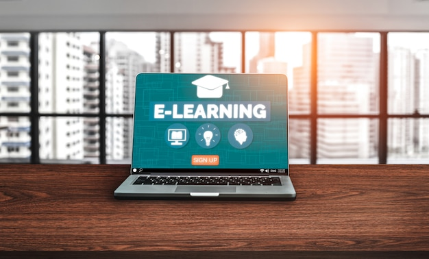 E-learning for student and university background