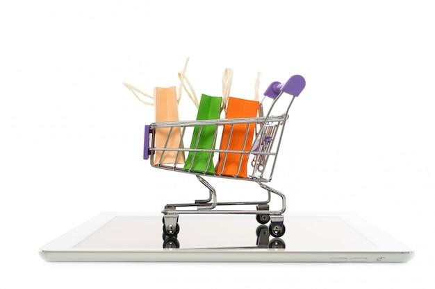 オンラインショッピングやeコマースのコンセプト