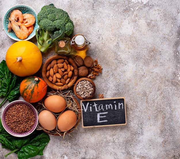 ビタミンeの品揃え食品