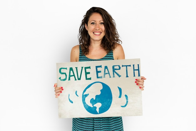 Grafico del segno dell'icona del globo della giornata della terra